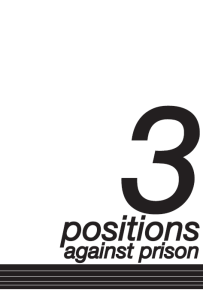3 Positions against prison cover pic